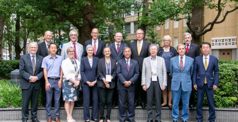 TCHM representatives 2019 Tokyo